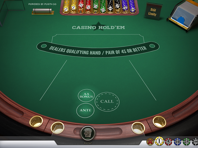Stolová hra Casino Hold'em