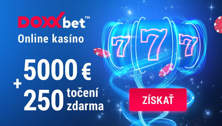 Doxxbet kasíno bonusy