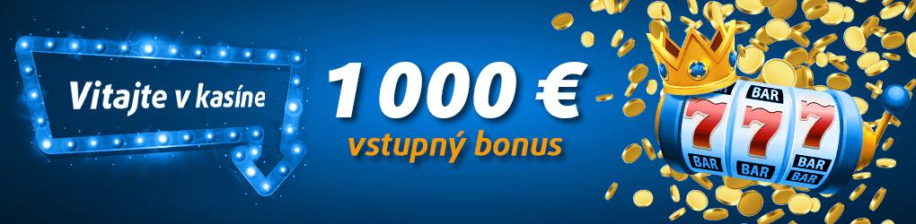 Tipsport kasíno bonus